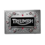 Triumph Ladies Jewel 2 Buckle Belt